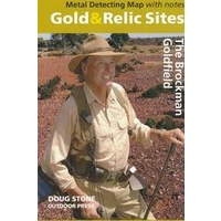 The Brockman Goldfield Gold & Relic Map