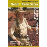 Sandstone - Nunngarra Goldfield Gold & Relic Map