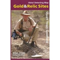 Stuart Town Goldfield Gold & Relic Map