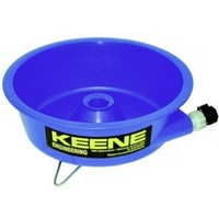 Keene gold concentrating Blue Bowl