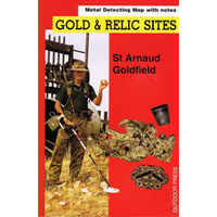 St. Arnaud Gold & Relic Map