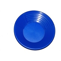 "10 "" Keene Blue Gold Pan"