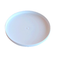 "18"" ROUND SKIDPLATE (WHITE)"